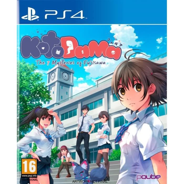 JEU PS4 Kotodama : The Seven Mysteries of Fujisawa - Day O