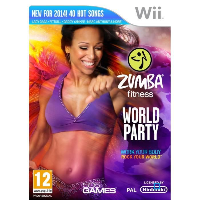 JEUX WII ZUMBA WORLD PARTY  / Jeu console WII