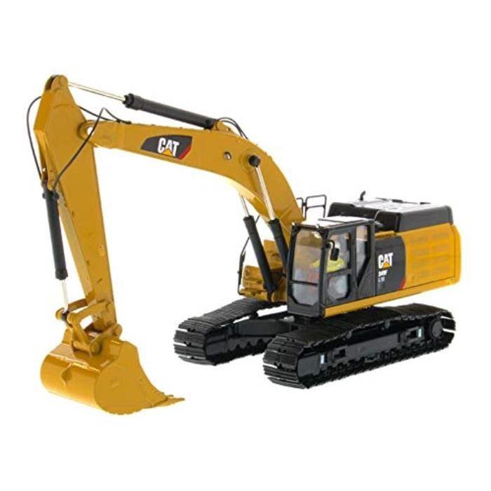 Kit Modelisme A Construire IB8Z5 CAT Caterpillar 349F L XE Pelle hydraulique avec l'opérateur de la série High Line 1-50 Modèle 8594