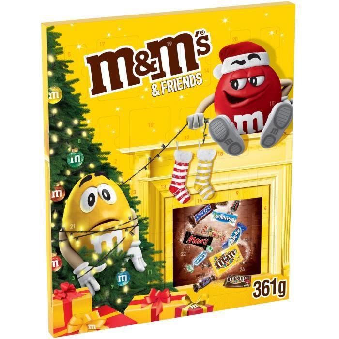 Bonbons Calendrier de l'Avent M&M'S Calendrier de 361 g