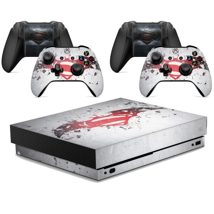 GNG Hero's VS Skins for XBOX ONE X XBX Console Decal Vinal Sticker + 2 Controller Set