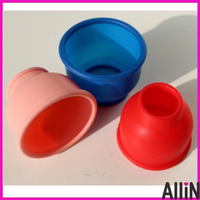 3 pièces-ensemble manchon en caoutchouc de silicone pour accessoires de pompe à pénis d'agrandissement - Type Autre