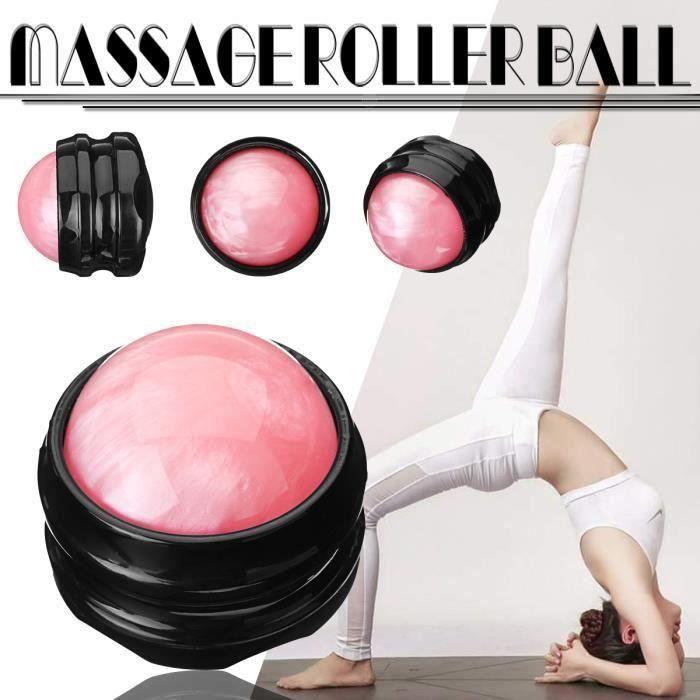 Balle Massage Résine Balle Musculation Pour Mobilité Entraînement Fitness Equipment Trigger Point Relaxe Muscle Pied ROSE L11241