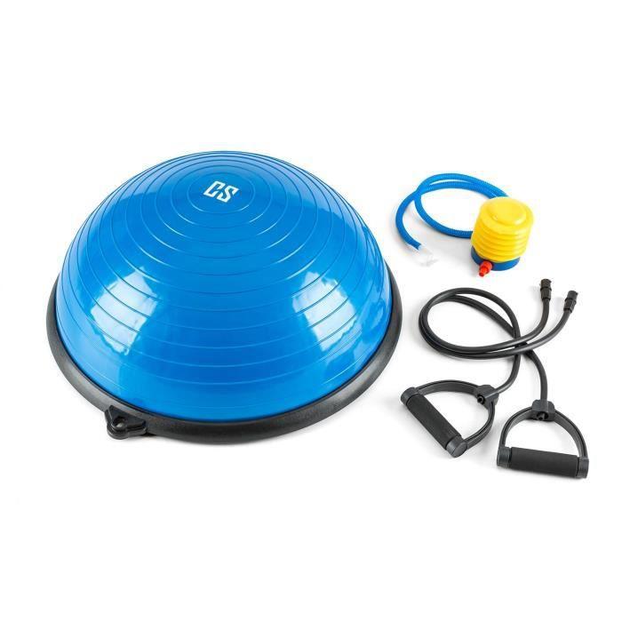 CAPITAL SPORTS Balanci Pro Balance Ball Ballon d'exercices Ø 58 cm PVC-PP Expander bleu