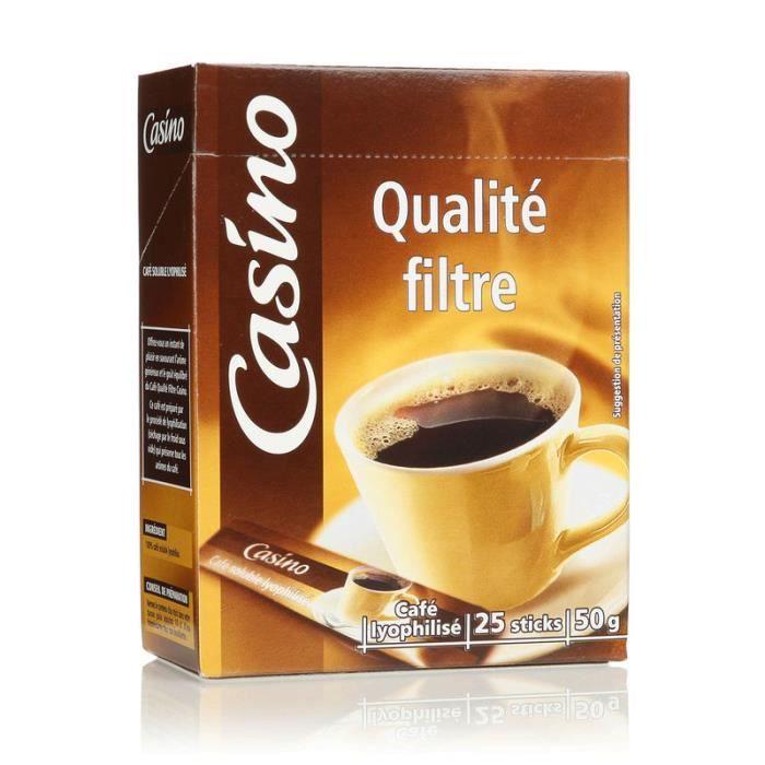 Café 25 sachets 50 g