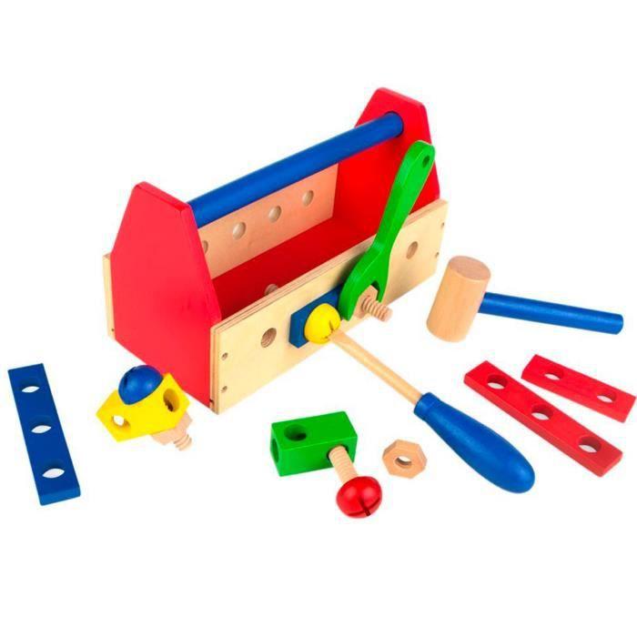 Outils de sécurité pour enfants en bois- PIECE DETACHEE JEU SCIENTIFIQUE