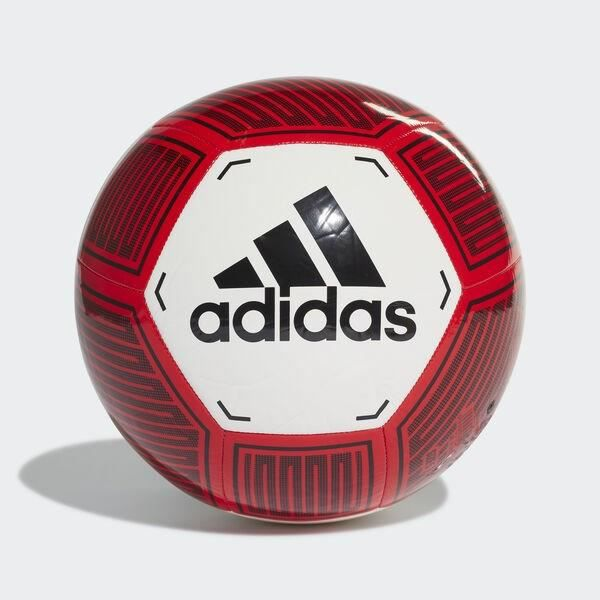 ADIDAS PERFORMANCE Ballon de Football Starlancer VI - Blanc/Rouge/Noir -Taille 5