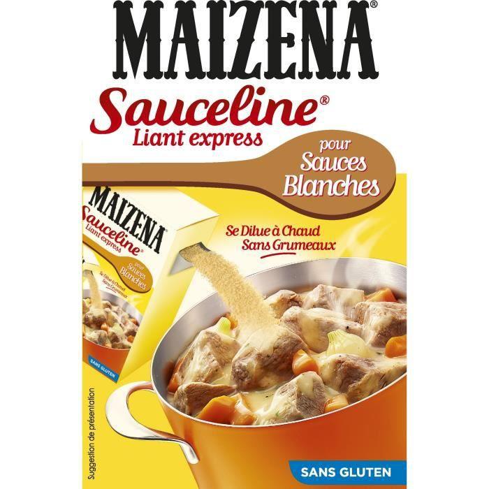 MAIZENA Sauceline Farine pour Lier Sauces Blanches Sans Gluten - 250 g