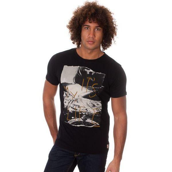 Tee shirt JAPAN RAGS Poireau Black
