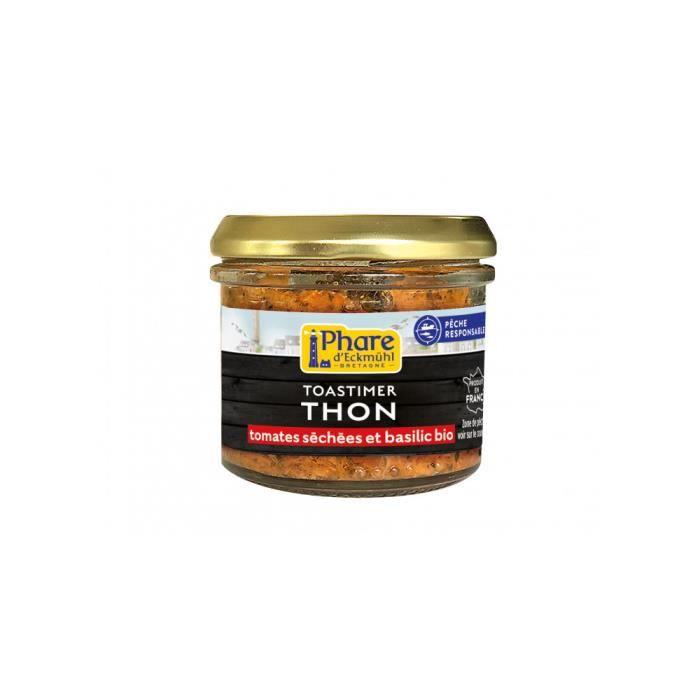 Toastimer de thon, tomates séchées & basilic bio 100gr
