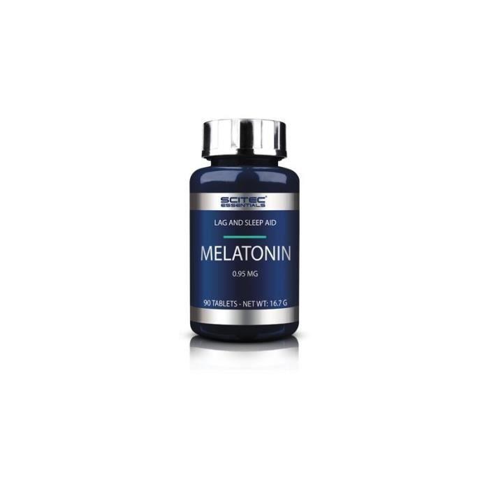 Melatonine 0.95mg SCITEC - 90 tabs - Chocolat-Smarties