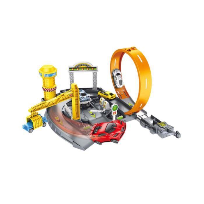 1 jeu de piste de stationnement de voiture automobile couture construction VEHICULE A CONSTRUIRE - ENGIN TERRESTRE A CONSTRUIRE
