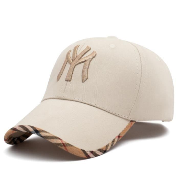 Beige -Casquette de Baseball MY brodée pour hommes et femmes, Hip Hop, mode, Snapback, Sports de plein air, chapeaux de soleil d'été