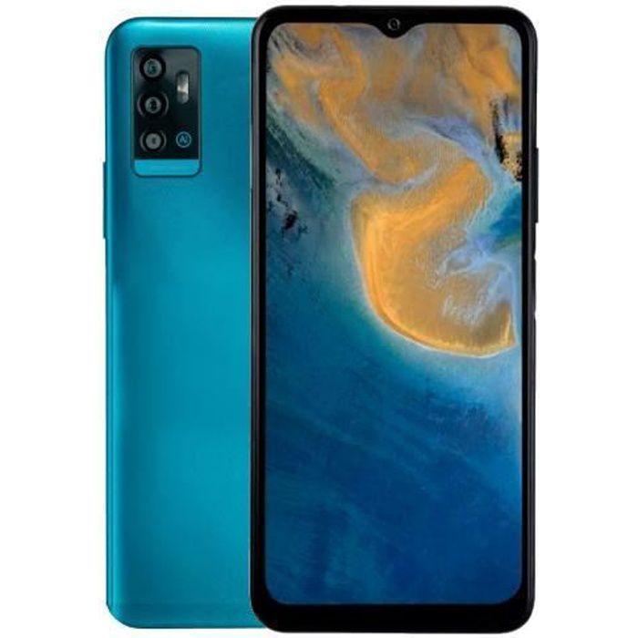 Téléphone portable ZTE BLADE A71, écran 6.52- HD+, 1600 x 720 pixels, Dual SIM 4G, Android 11, processeur Octa-Core 2.0 GHz, slot