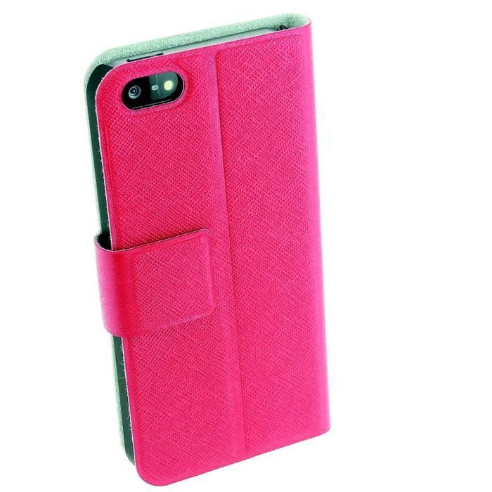 Housse etui coque apple iphone 5 film rouge achat for Etui housse iphone 5