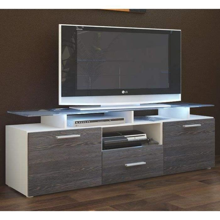meuble tv bois blanc ikea. Black Bedroom Furniture Sets. Home Design Ideas