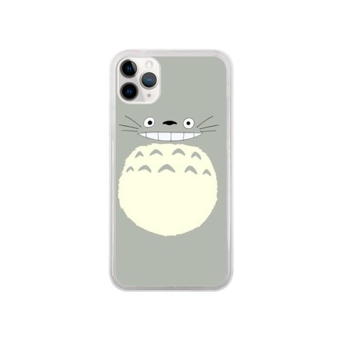 Coque iPhone 11 Pro Totoro Content Manga - Bertran