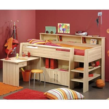 lit combin et bureau enfant matelot achat vente lit combine lit combin cdiscount. Black Bedroom Furniture Sets. Home Design Ideas