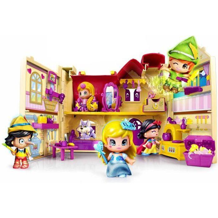 PINYPON La Maison Des Contes De Fees + 1 Figurines - Achat / Vente figurine - personnage - Cdiscount