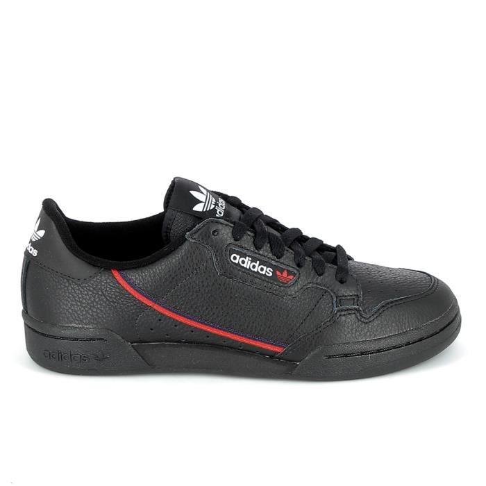 Basket mode - Sneakers ADIDAS Continental 80 Noir Rouge