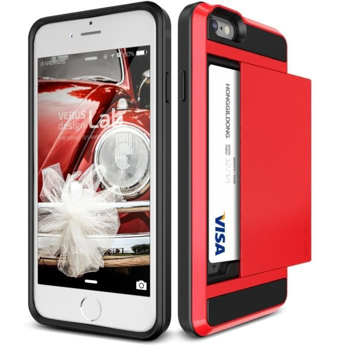 coque iphone 6 plus red