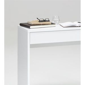 bureau console blanc achat vente bureau console blanc. Black Bedroom Furniture Sets. Home Design Ideas