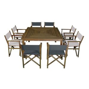 table carre 8 places achat vente table carre 8 places. Black Bedroom Furniture Sets. Home Design Ideas