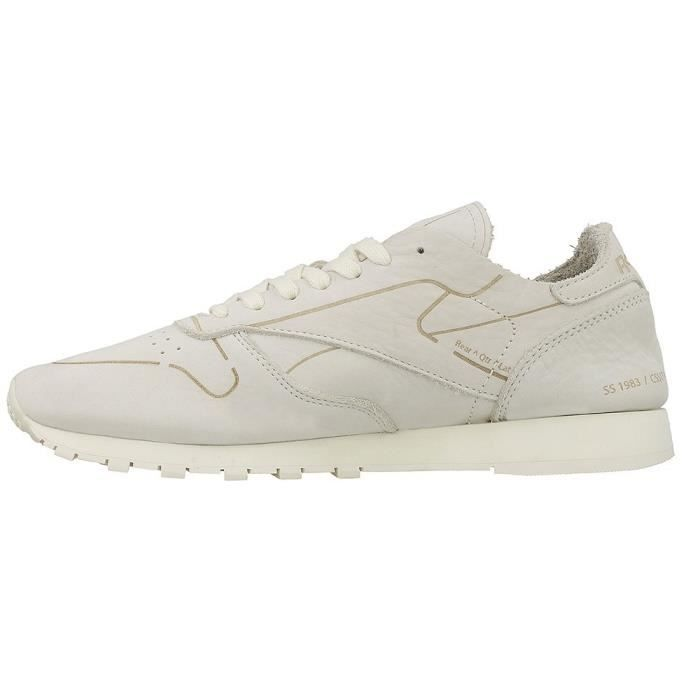Chaussures Reebok CL Leather Hmg DFXx2kYC