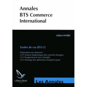 MANUEL BTS Etudes de cas BTS Commerce International