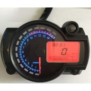 MOTO Tachymètre coloré de compteur de vitesse coloré d'