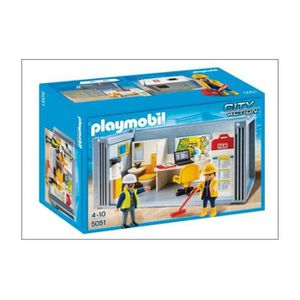 playmobil travaux achat vente jeux et jouets pas chers. Black Bedroom Furniture Sets. Home Design Ideas