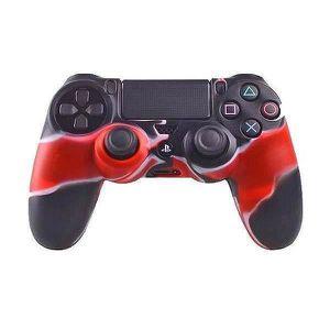 STICKER - SKIN CONSOLE Etui Coque Protection Silicone pour Manette PS4 Co