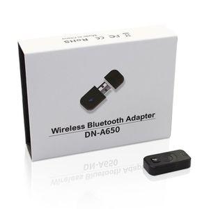 ADAPTATEUR BLUETOOTH black Adaptateur récepteur dongle Bluetooth sans f