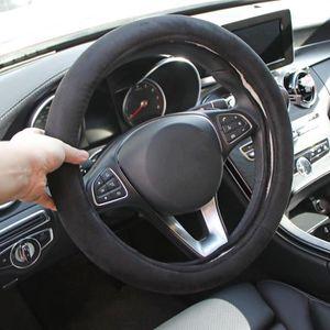 Housse chauffante pour volant de voiture 12 V universelle antid/érapante r/églable