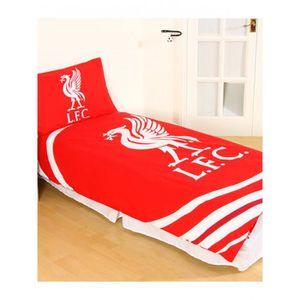 salah Housse de Couette Parure de lit Liverpool FC 100/% Coton Les Reds Firmino Man/é