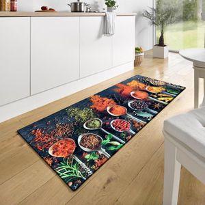 WGOO Carpet Tapis Cuisine Antid/érapant Absorbant Tapis de Sol Devant Evier Lavable,Tapis De Salle De Bains D/Épaisseur 6MM Gris Clair,Petits Carr/és,40X120CM