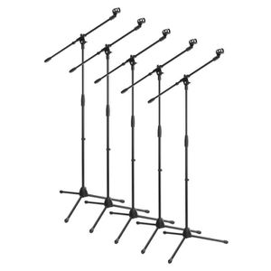 PIED - STAND 5x Lot McGrey MBS-01 Stand de Microphone avec Perc