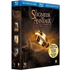 BLU-RAY FILM Le Seigneur des Anneaux 3 - La trilogie - En Blu-r