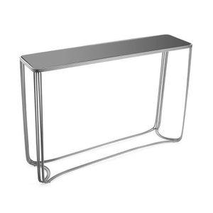 CONSOLE Console avec plateau en verre trempé - L 110 x l 3