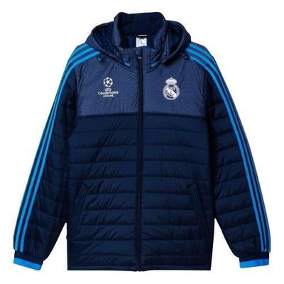 Adidas Performance Veste Real Madrid UCL Bleu   blanc - Achat ... e9dd33f84ce