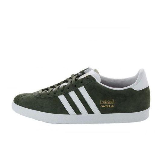 Basket Adidas Gazelle Olive Green Vert - Achat / Vente ...