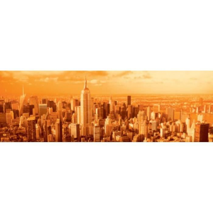 New york poster de porte manhattan vanilla sk achat for Decoration porte new york