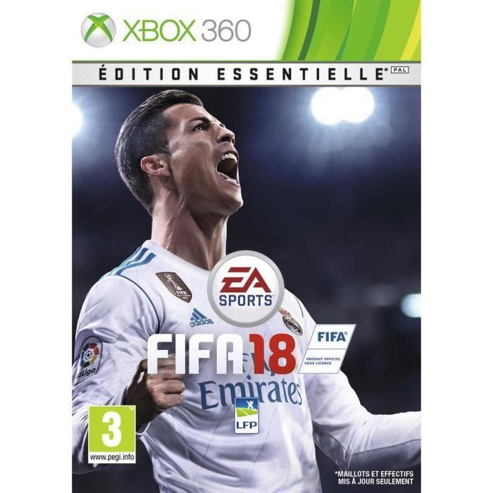 JEU XBOX 360 FIFA 18 Edition Essentielle Jeu Xbox 360