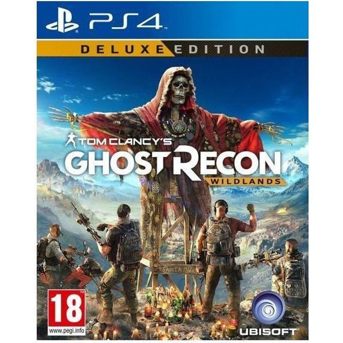 Ghost recon wildlands edition deluxe ps4 fr new