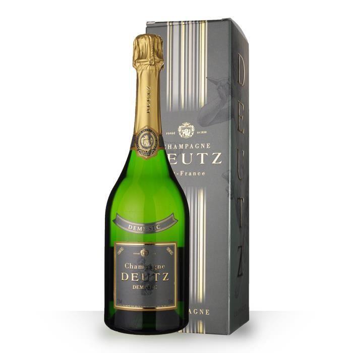 Deutz Demi-Sec 75cl - Etui - Champagne