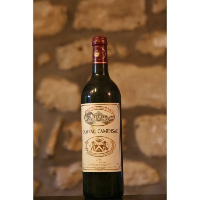 Vin rouge,Château Camensac 2000 Rouge