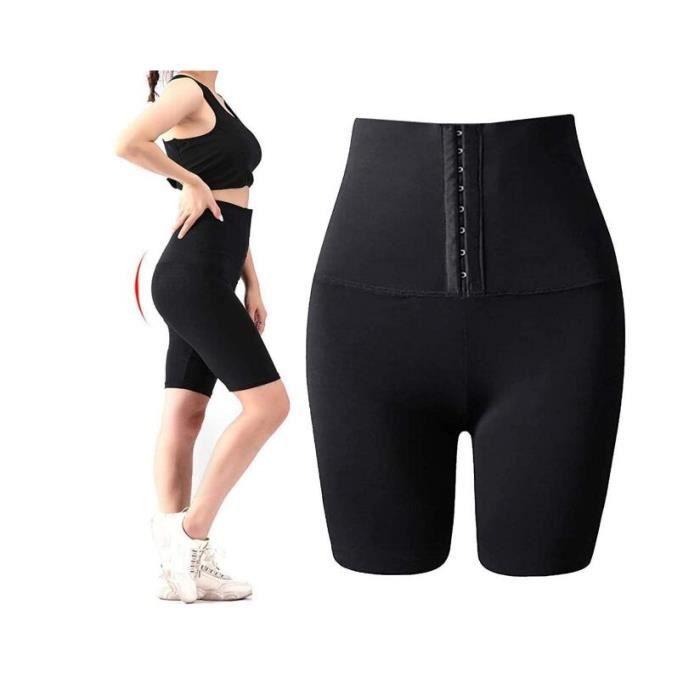 Le Short De Sudation Taille Haute Leggings De Sauna De Sport NéOprèNe pour Entra Neur De Taille De Perte De Poids Shorts- L