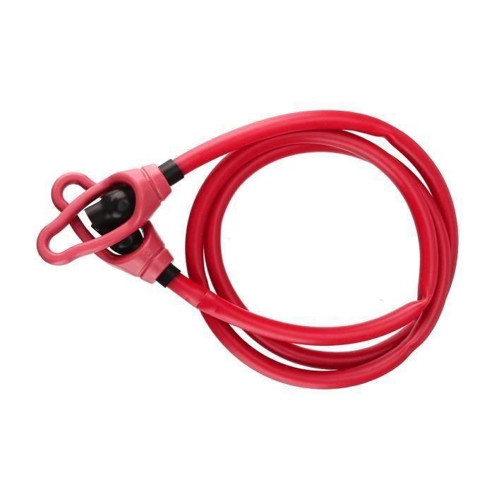 AVANC Bande de Résistance Elastique Sangle Fitness Bras rouge 20lbs
