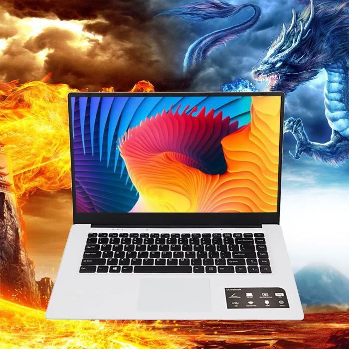 Ordinateur Netbook Quad-core de bureau mince et léger 15,6 pouces 6 + 64G Windows10 - likaiyehio z1