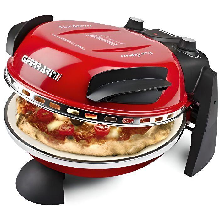 G3Ferrari G10006 Delizia Four à pizza électrique Evo, 1200 W, rouge G10006